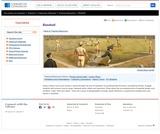 Baseball: As American as Apple Pie