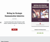 Writing for Strategic Communication Industries