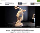 Myron, Discobolus (Discus Thrower)