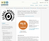 Global Nomads Group: The Right to Bear Arms Curriculum (One Week Lesson Plan)