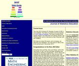 Journal of Statistics Education