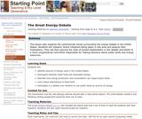 The Great Energy Debate