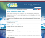 Teaching About Energy: The NEED Project