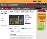 Foundations of World Culture II: World Literatures and Texts, Spring 2012