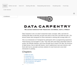 Data Carpentry: R for data analysis and visualization of Ecological Data