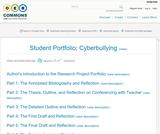 Student Portfolio: Cyberbullying