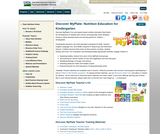 Discover MyPlate: Nutrition Education for Kindergarten