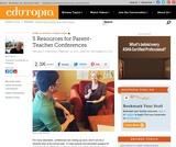 5 Resources for Parent-Teacher Conferences