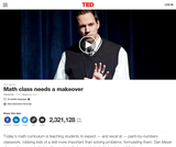 Dan Meyer: Math class needs a makeover