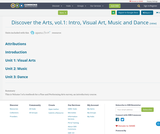 Discover the Arts, vol.1: Intro, Visual Art, Music and Dance