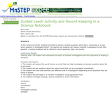 Guided Leech Activity and Record Keeping in a Science Notebook