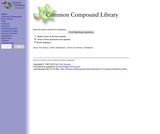 Common Compound Library