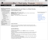 Depicting Women and Class in a Global Society (Intermediate Level)