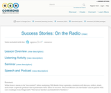 Success Stories: On the Radio