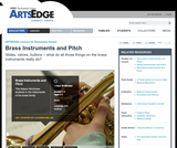 Brass Instruments and Pitch