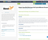 Digital Age Skill:Biology Cell Cycle/Mitosis Project