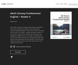 Adult Literacy Fundamental English - Reader 3