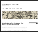 "Of Civil Government"" (The Second Treatise of Government)"