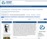 "Teaching the ""American War"": Looking at the War in Vietnam Through Vietnamese Eyes"