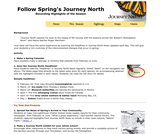 Follow Spring's Journey North