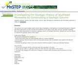 Investigating the Geologic History of Southeast Minnesota by Constructing a Geologic Column