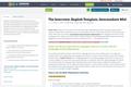 The Interview, English Template, Intermediate Mi