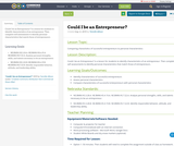 Could I be an Entrepreneur?