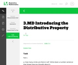 3.MD Introducing the Distributive Property