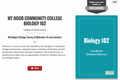 Mt Hood Community College Biology 102