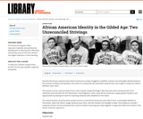 African American Identity in the Gilded Age: Two Unreconciled Strivings
