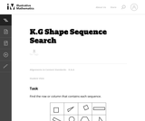 Shape Sequence Search