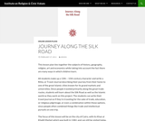 Journey Along the Silk Road