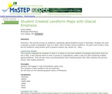 Student Created Landform Maps with Glacial Emphasis