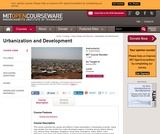 Urbanization and Development, Spring 2009