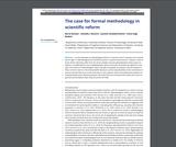 The case for formal methodology in scientific reform