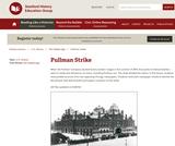 Reading Like a Historian: Pullman Strike