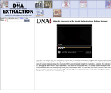 After the discovery of the double helix structure, Sydney BrennerSite: DNA Interactive (www.dnai.org)