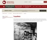 Reading Like a Historian: Loyalists