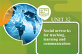 Social Networks for Teaching, Learning & Communication