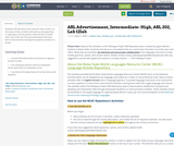 ASL Advertisement, Intermediate- High, ASL Foundations