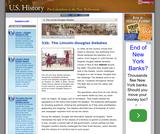 32b. The Lincoln-Douglas Debates
