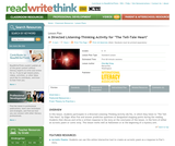 """A Directed Listening-Thinking Activity for """"The Tell-Tale Heart"""""""