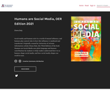 Humans are Social Media, OER Edition 2021