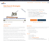 Web Search Strategies in Plain English