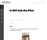 G-SRT Ask the Pilot
