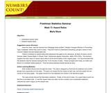 Freshman Statistics Seminar - Week 13: Hazard Ratios