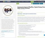 Communicating in A Big Way - Digital Design Using Wide Format Printing