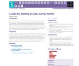 CS Principles 2019-2020 5.17: Building an App: Canvas Painter