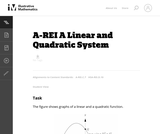 A Linear and Quadratic System