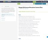 Happy Halloween Storytime Lesson Plan